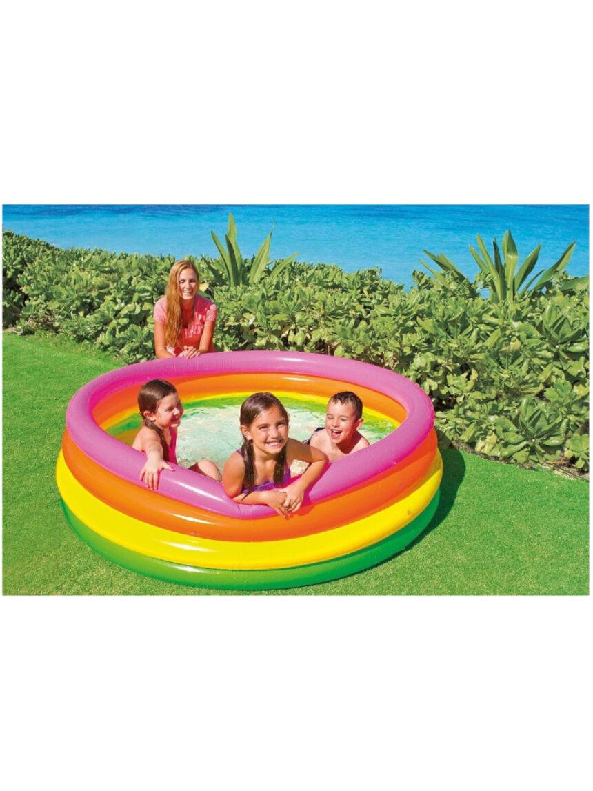 Intex - piscina arco-íris de 4 anéis - Intex