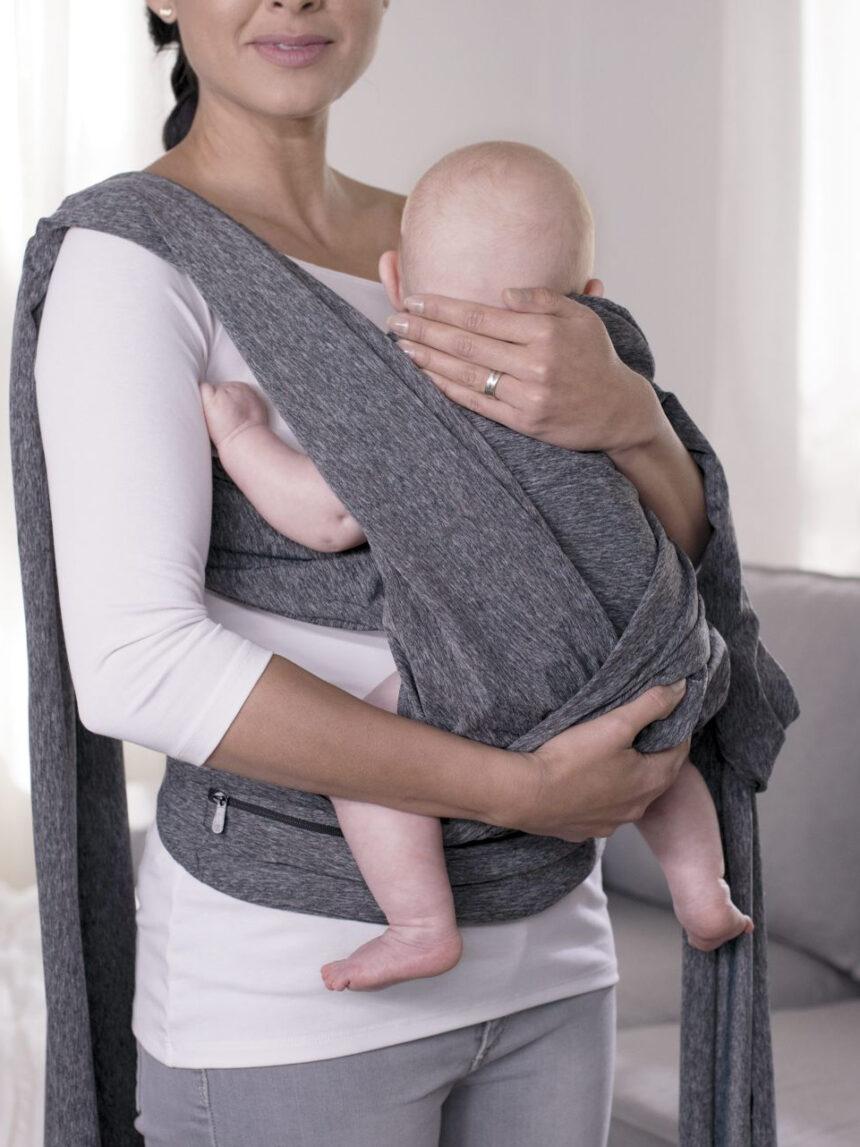 Porta-bebês boppy confortável cinza - Boppy