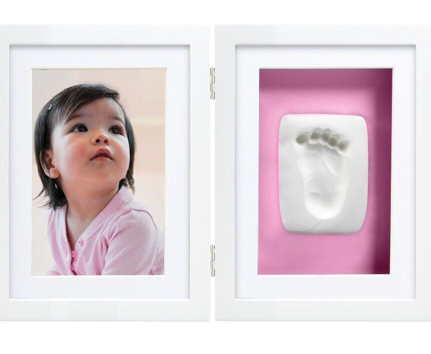 Babyprints quadro de mesa branco - Pearhead