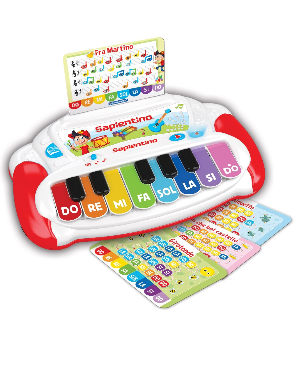 Os sons do piano aprendem - Clementoni