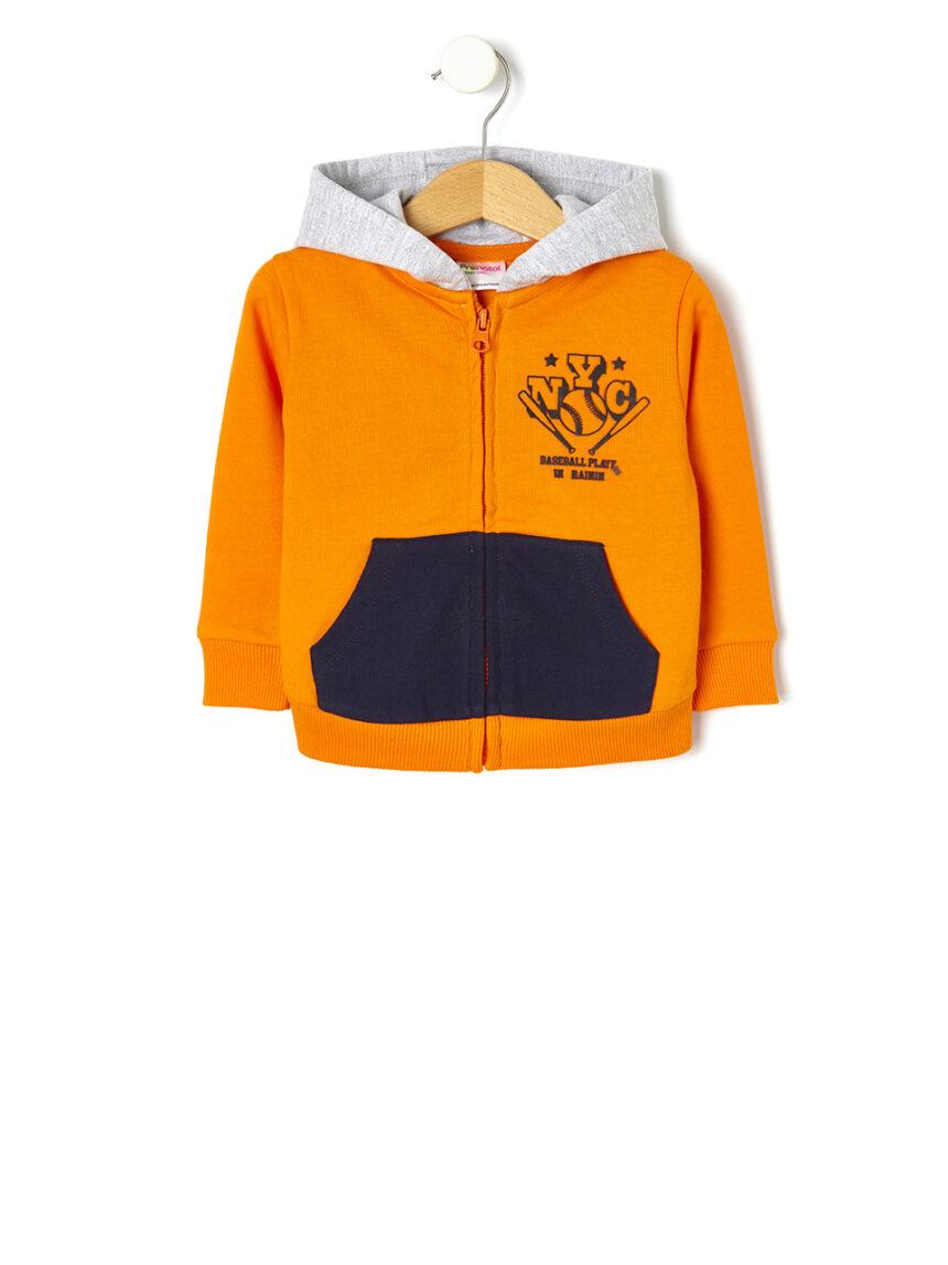 Cardigan de lã tricolor - Prénatal