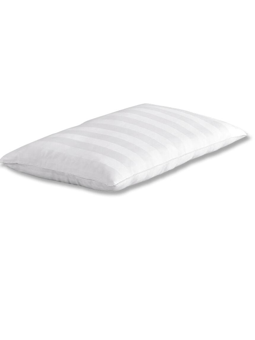 Almofada com capa confortável de algodão acetinado para berço 30x50cm - Giordani