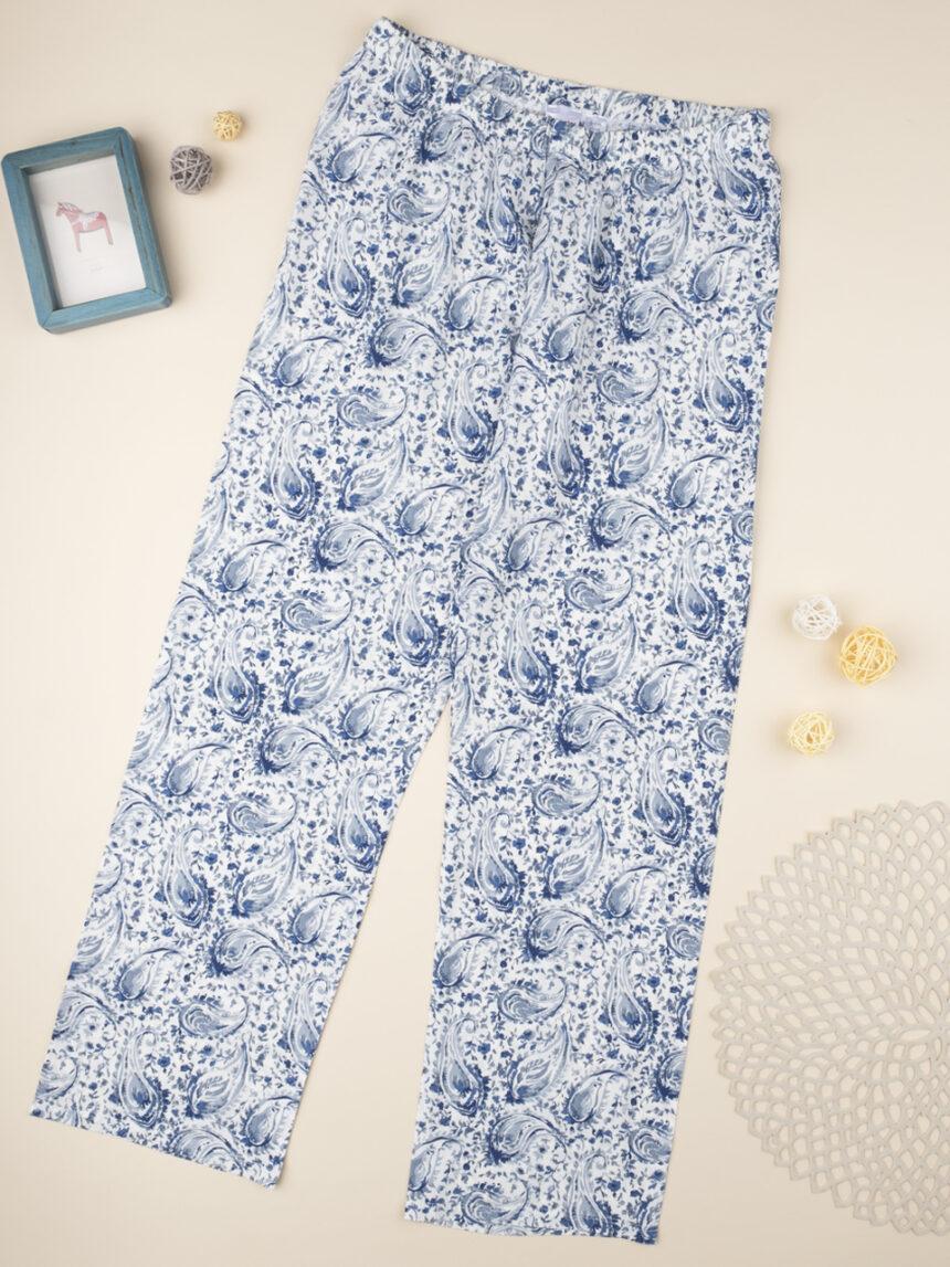 """Calça de pijama """"gradiente azul"""" - Prénatal"""