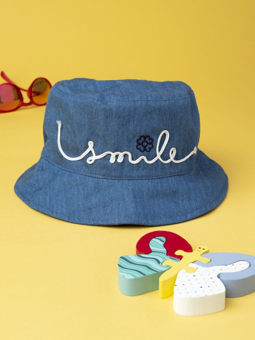 """Chapéu de menina """"sorriso"""" - Prénatal"""