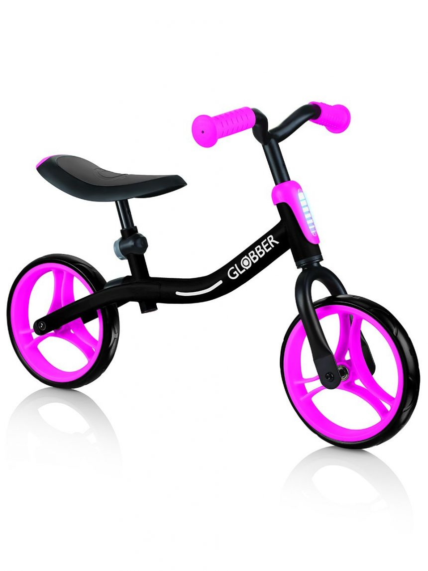 Globber - vá de bicicleta - preto / rosa neon - Globber
