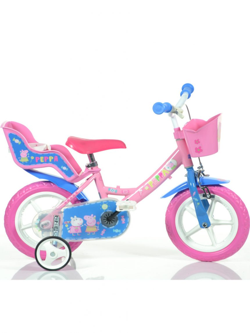 Bicicleta 12 '' peppa pig - Dinobikes