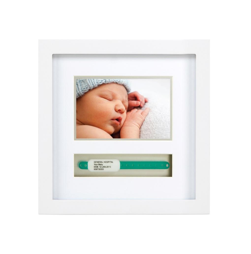 Moldura para pulseira de nascimento - pequena - Pearhead