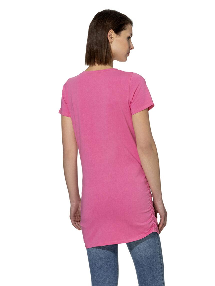 T-shirt de meia manga com estampado - Prénatal