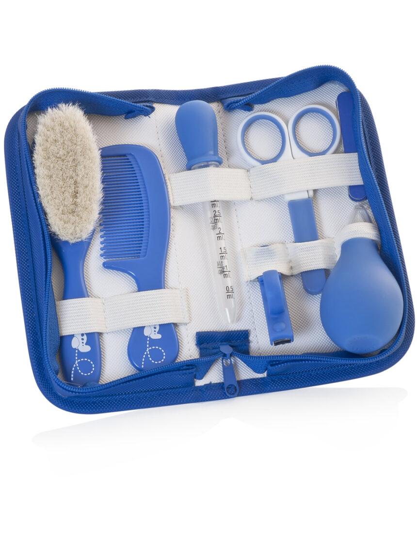 Conjunto de higiene infantil - azul - Miniland