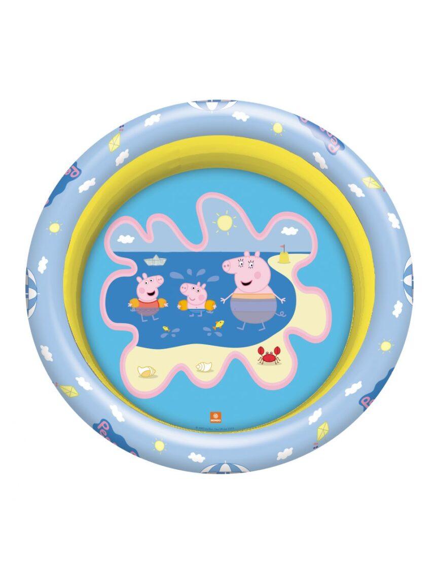 Mondo - piscina para pig peppa 3 anéis d. 100 cm - Mondo