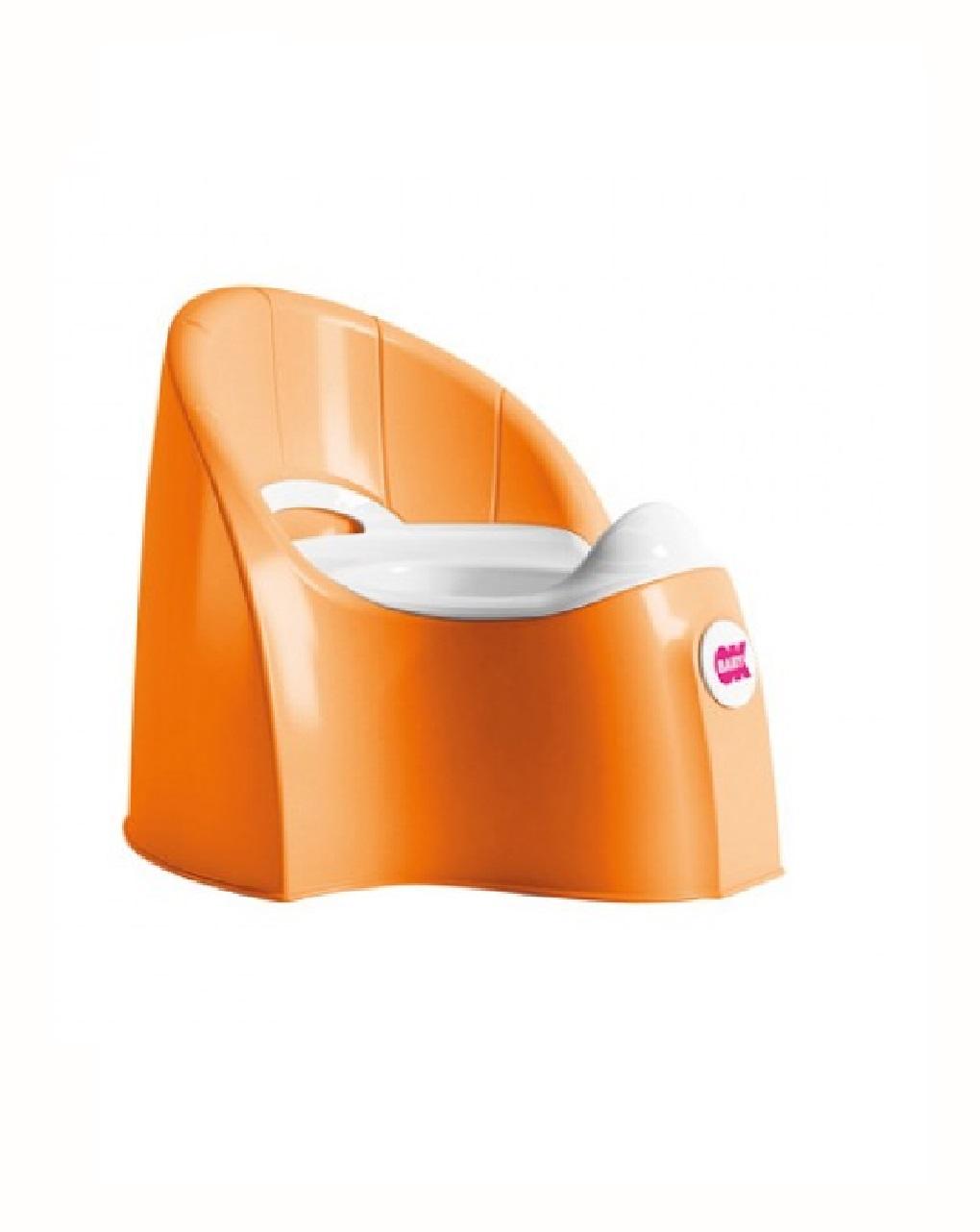 Potty pasha laranja - Okbaby