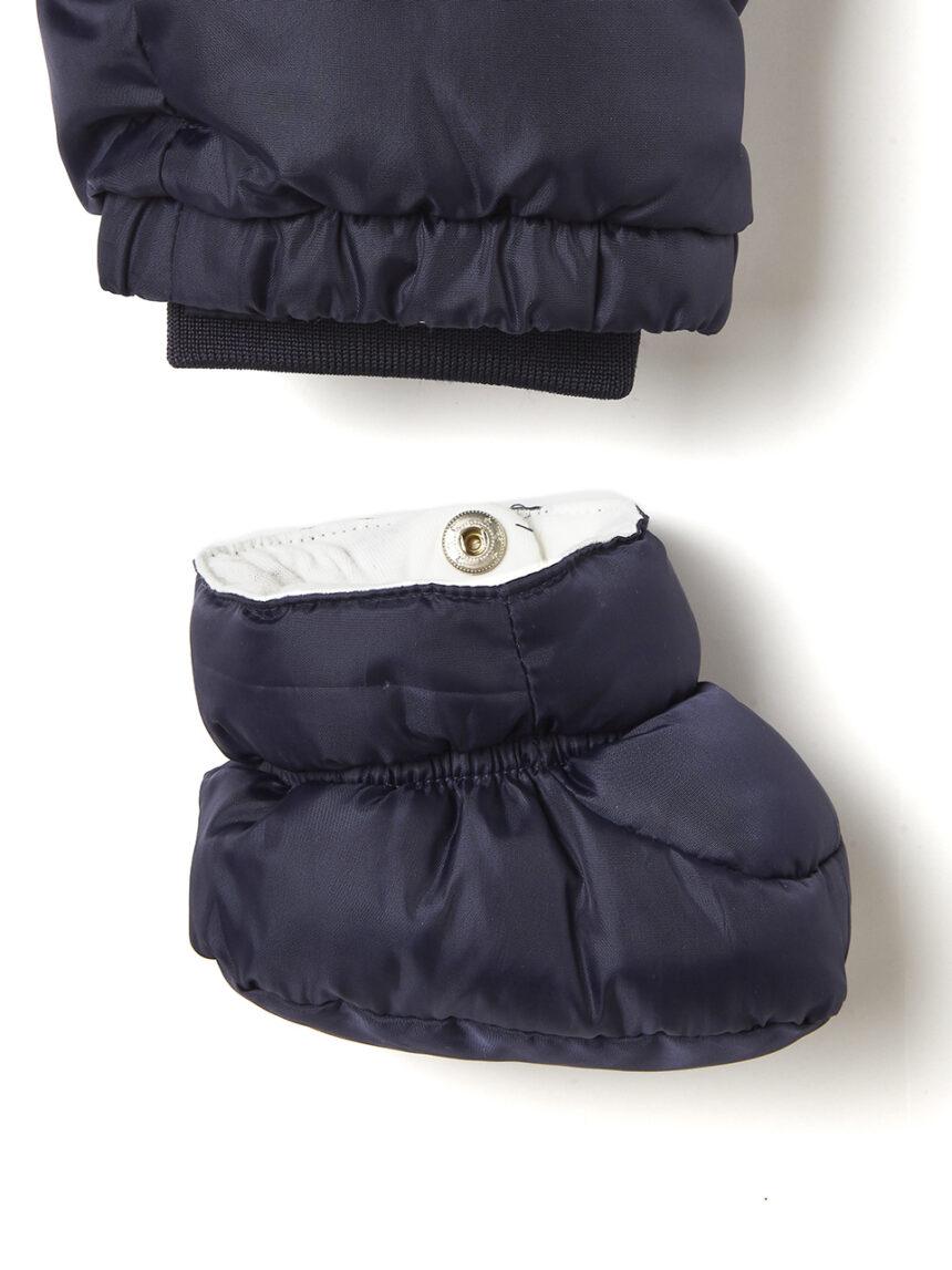 Roupa de neve em náilon azul escuro - Prénatal