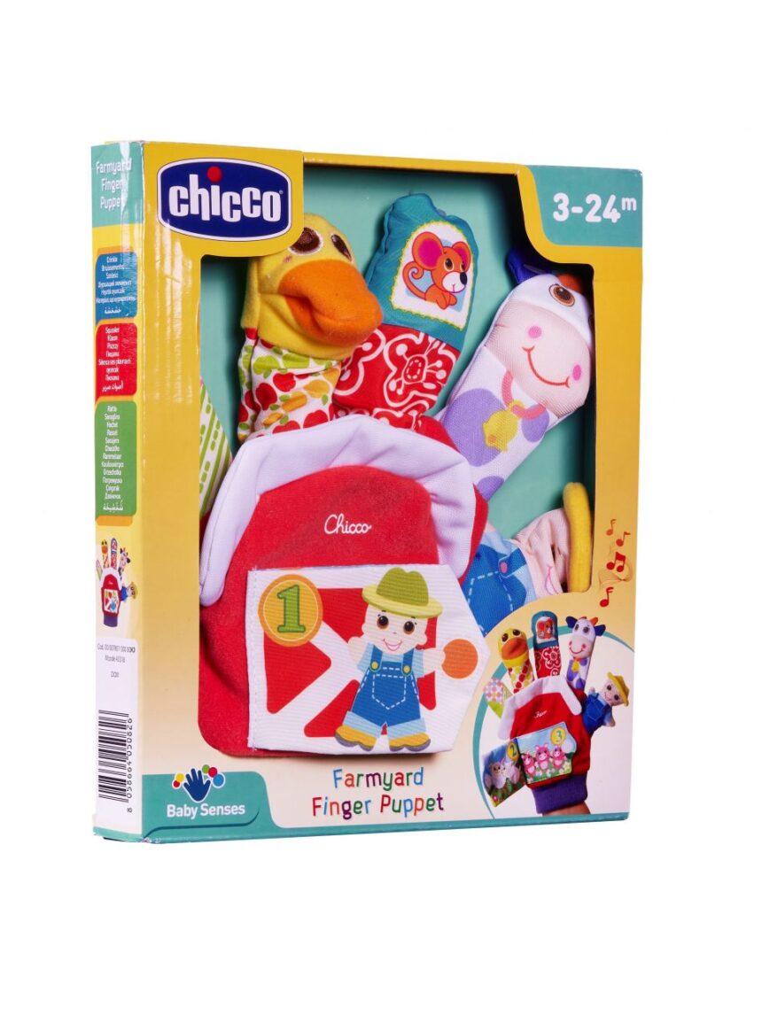 Chicco - o primeiro jogo de luvas de fantoches da fazenda - Chicco