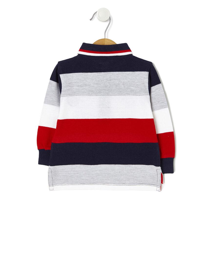 Camisa pólo listrada - Prénatal