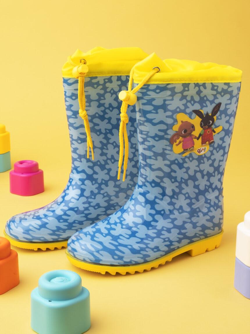 "Botas de chuva ""bing"" de menino - Prénatal"