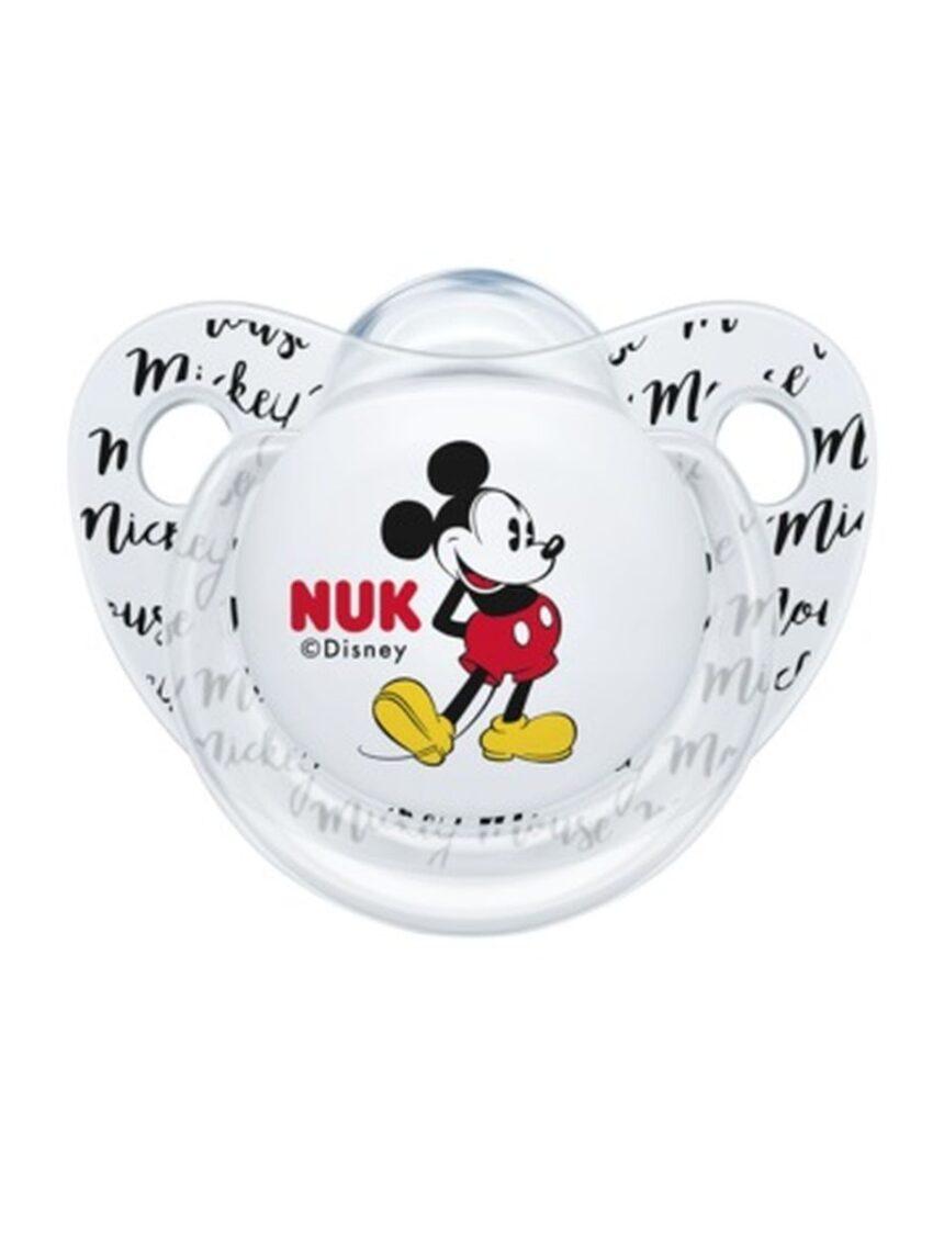 Chupeta de silicone mickey 0-6 m 2 pcs - Nuk