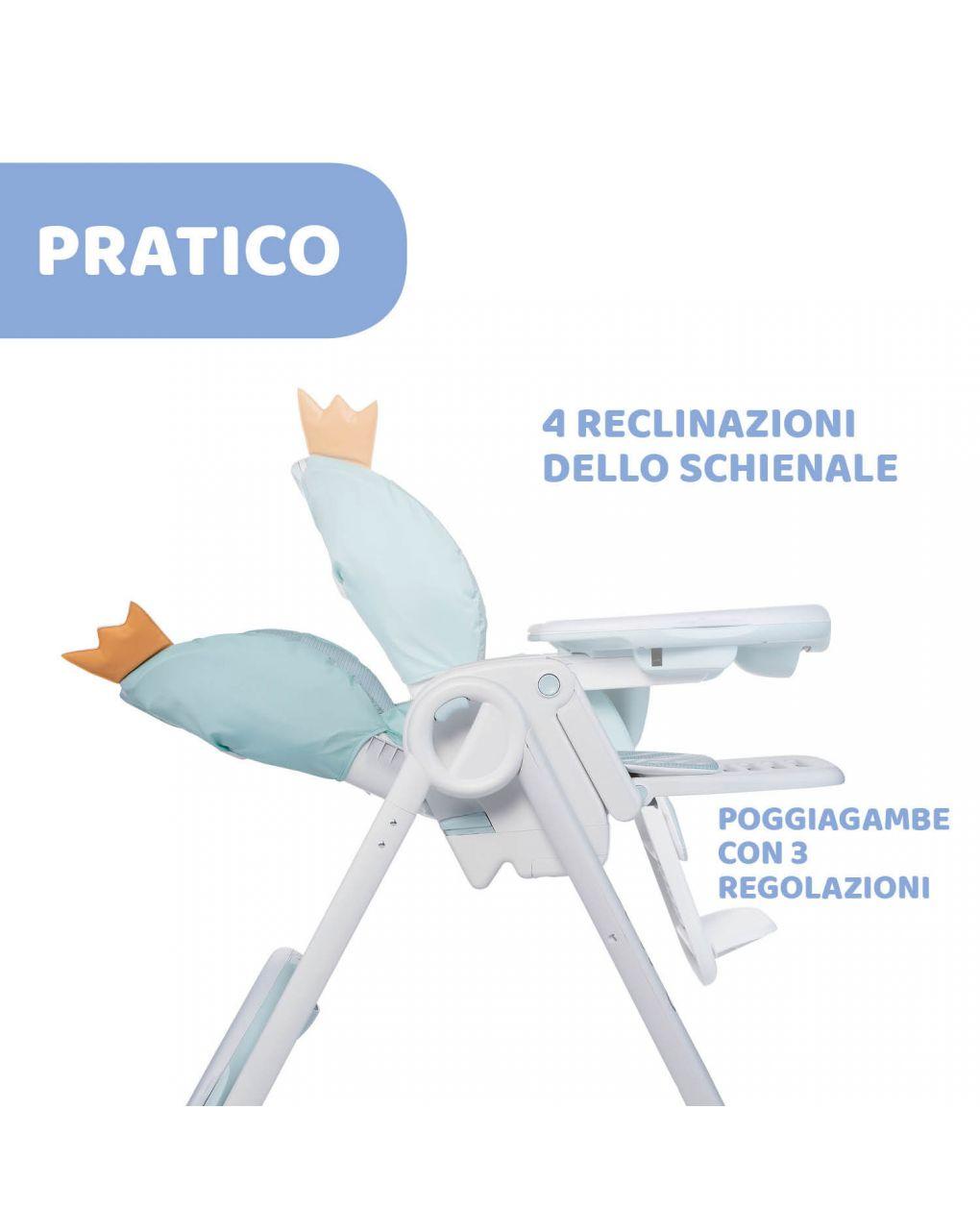 Cadeira alta chicco polly2start froggy - Chicco