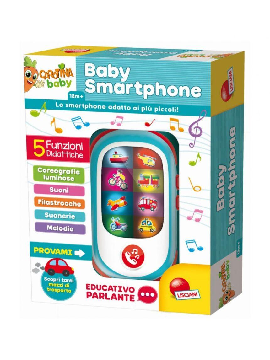 Lisciani - smartphone bebê carotina - Carotina