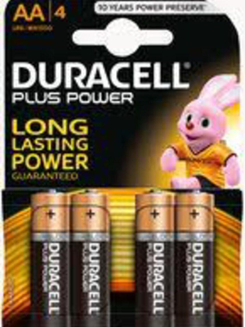 Mais potência aa b4 - Duracell