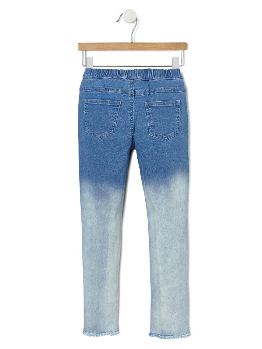 Jeggings jeans desbotados - Prénatal
