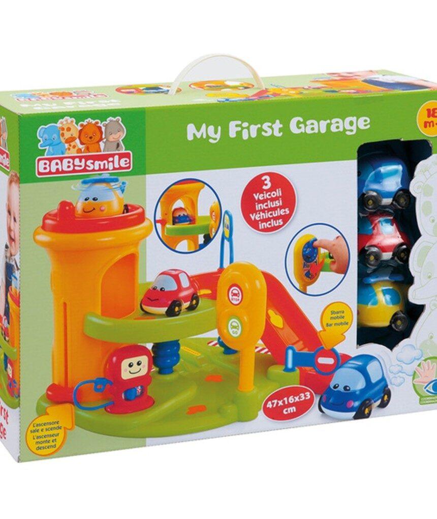 Sorriso de bebê - minha primeira garagem - Baby Smile