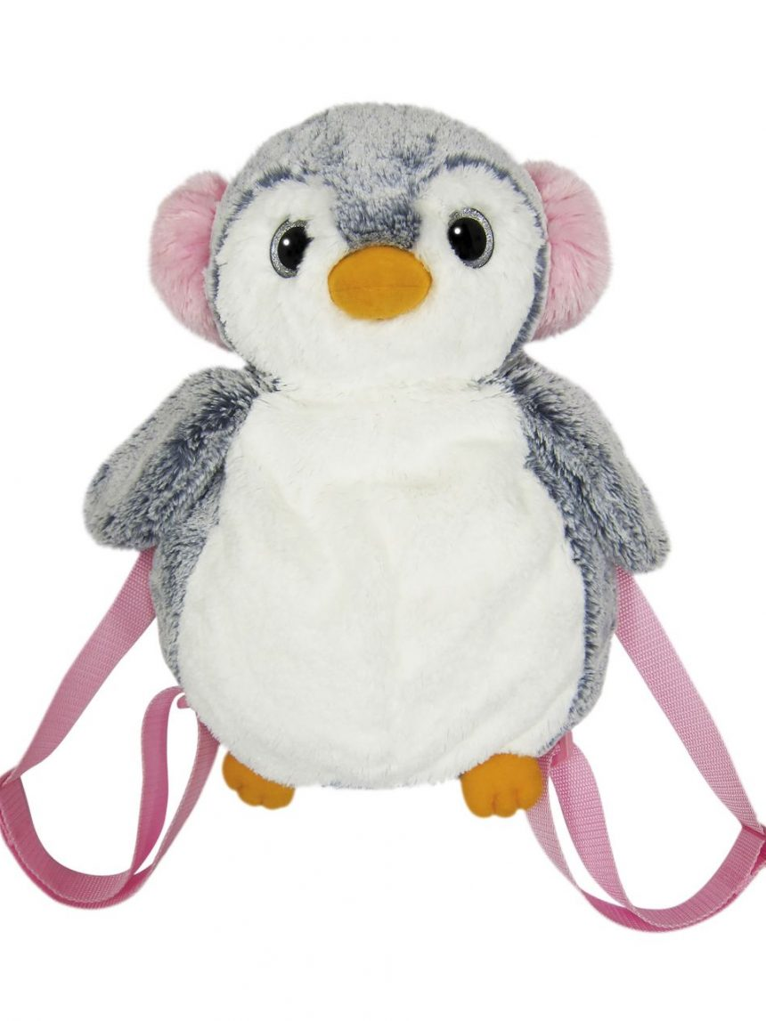Pelúcia ami - mochila de pinguim - Ami Plush