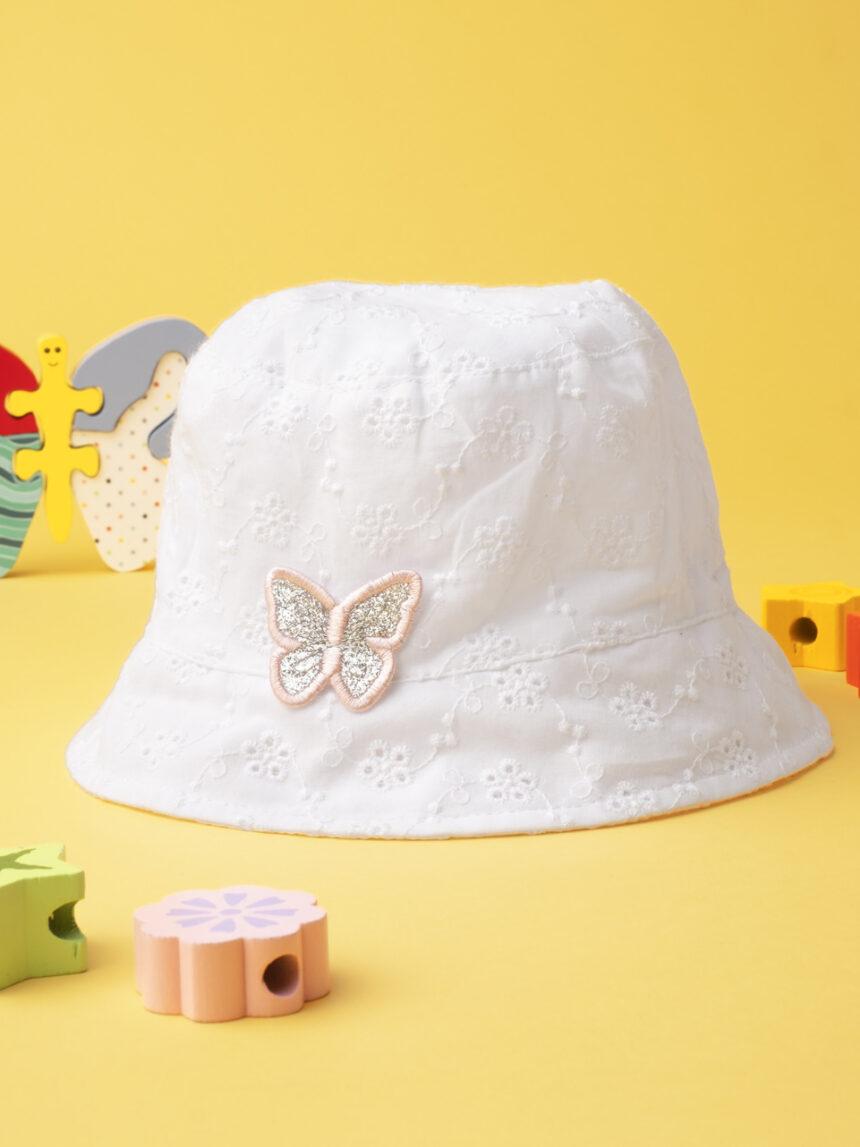 """Chapéu de menina """"borboleta"""" - Prénatal"""