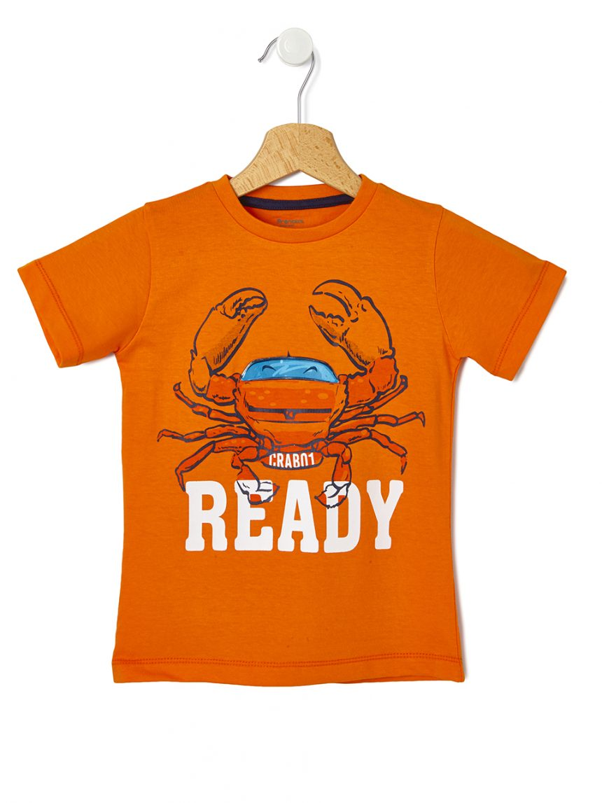 Camiseta estampada de caranguejo - Prénatal