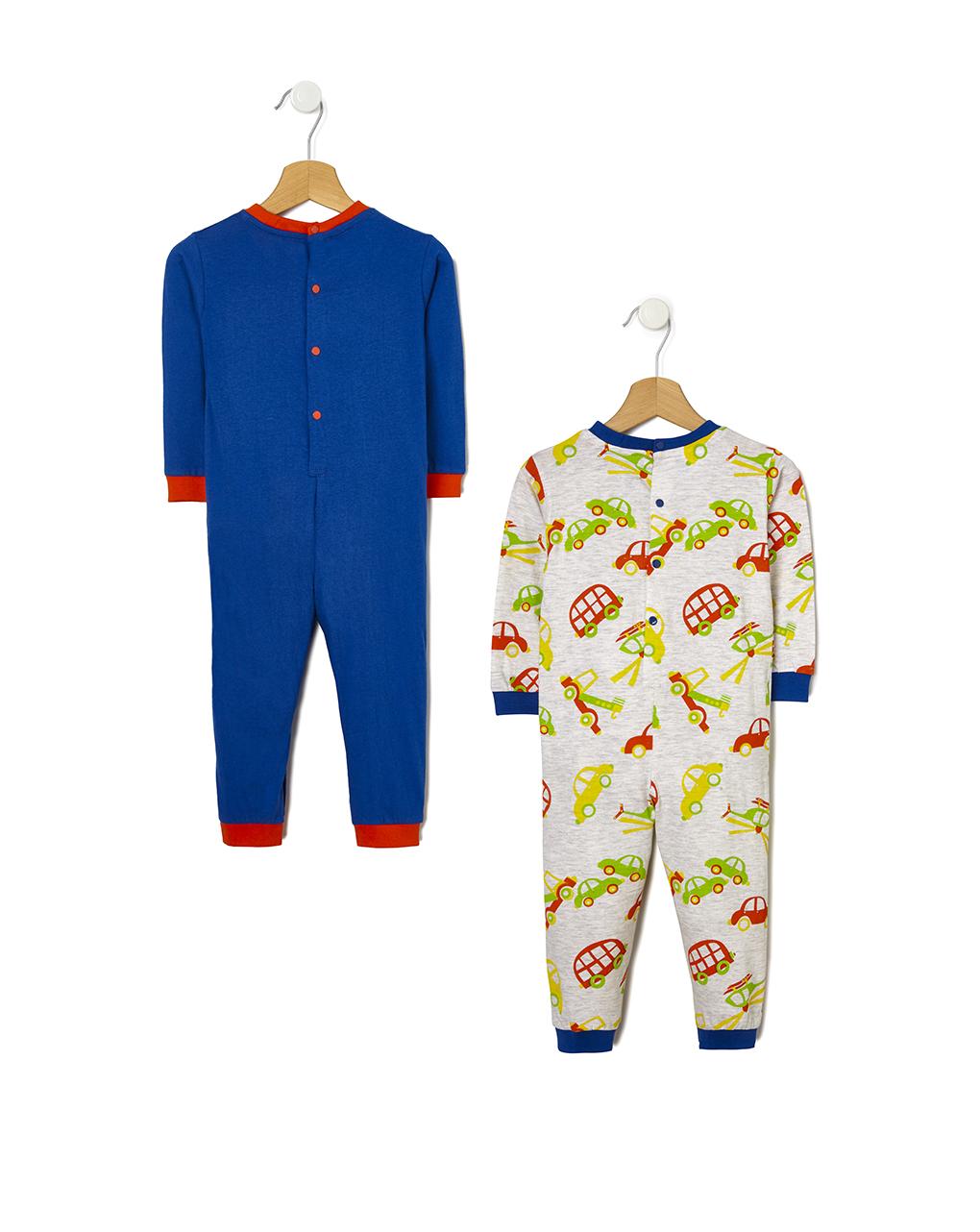 Pacote de 2 pijamas de carro - Prénatal