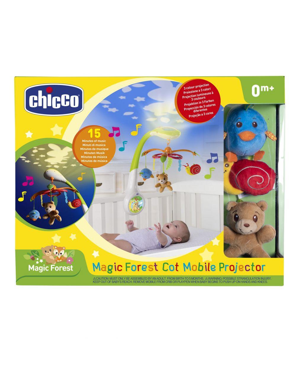 Chicco - projeções mágicas da floresta móvel - Chicco