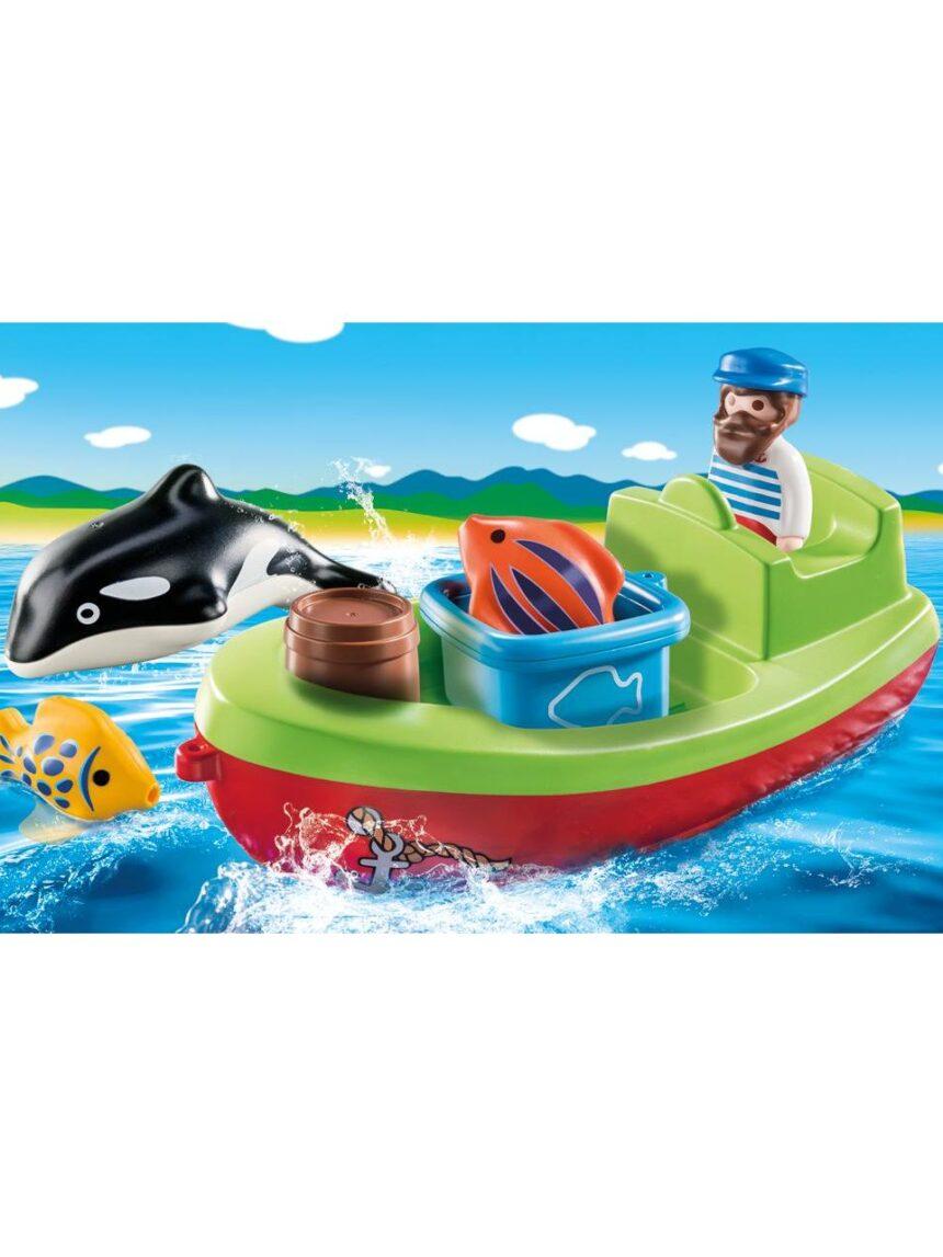 Playmobil - barco do pescador 1.2.3 - Playmobil