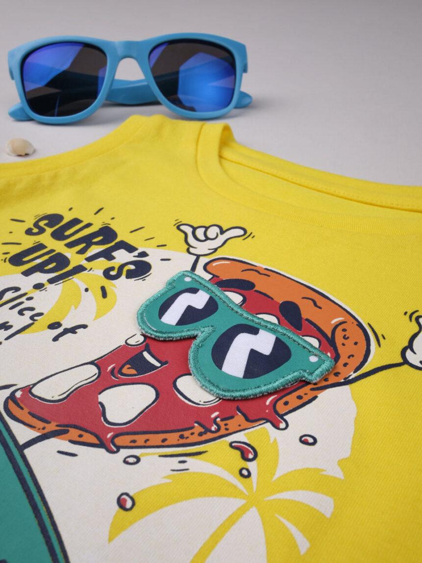 """Garoto """"surf's up pizza"""" regata - Prénatal"""