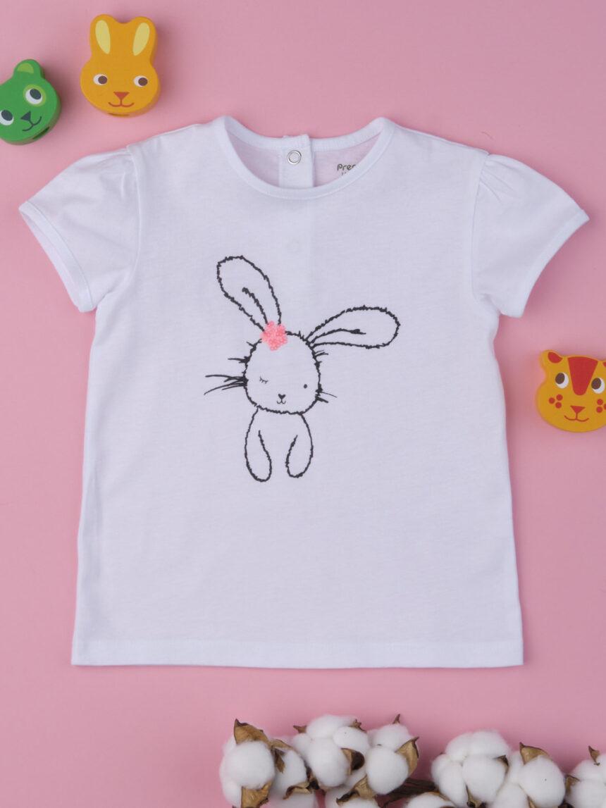 """Camiseta de menina """"coelhinha"""" - Prénatal"""