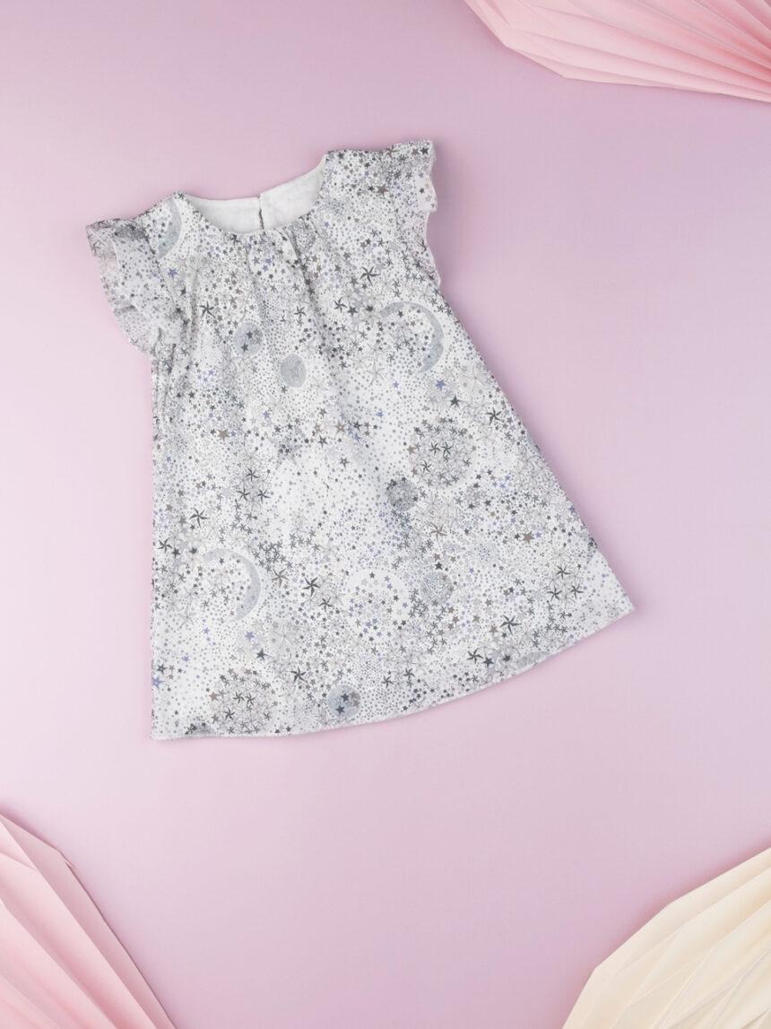 Vestido ss popeline aop baby girl - Prénatal