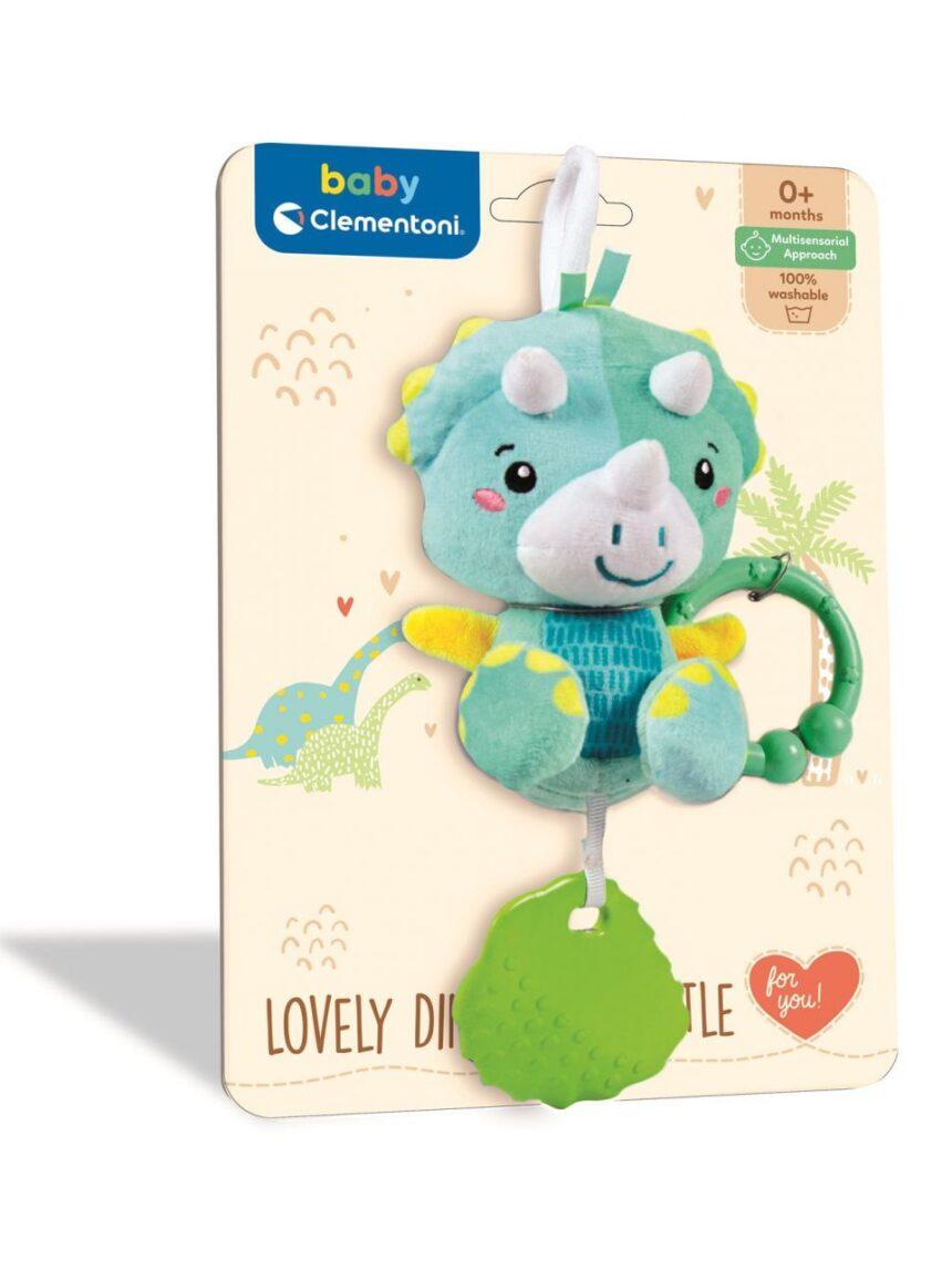 Clementoni de bebê - adorável chocalho de dinossauro - Baby Clementoni, Clementoni