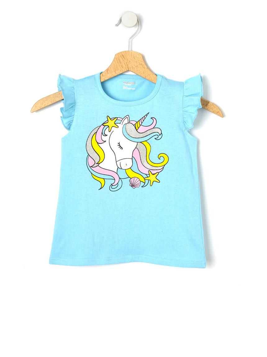 Camiseta estampada de unicórnio - Prénatal
