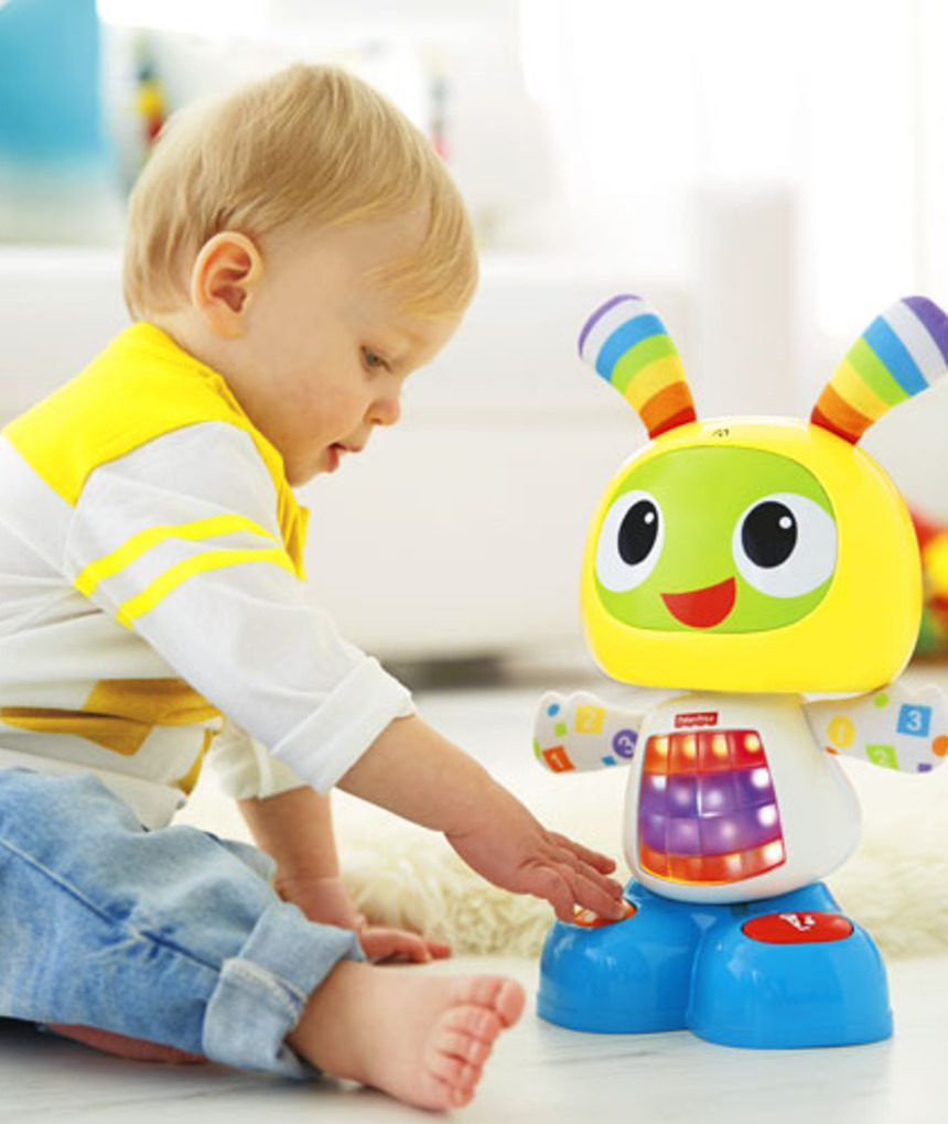 Robô cantor - Fisher-Price