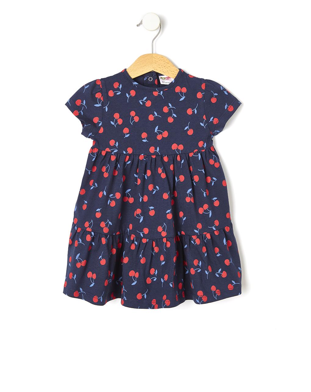 Vestido estampado cereja - Prénatal