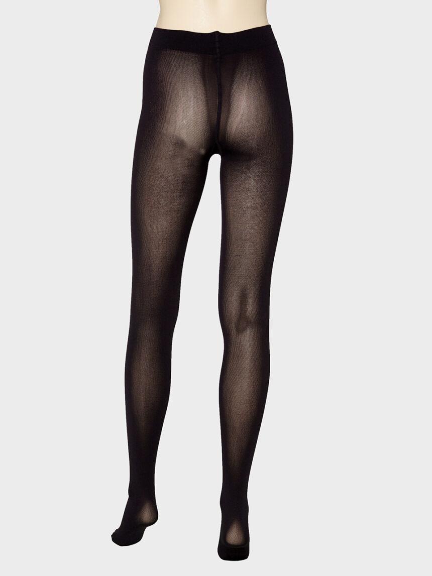 Meia-calça preta de microfibra 200 den - Prénatal