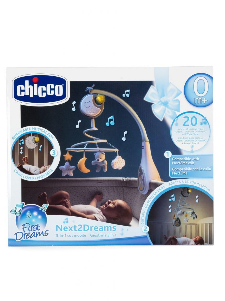 Chicco - next2dreams azul claro móvel - Chicco