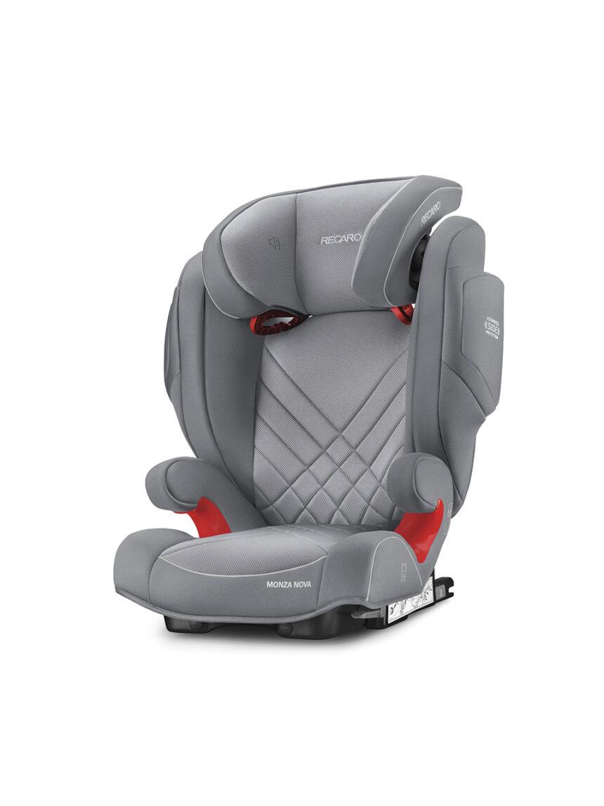 Recaro monza nova 2 seatfix alumínio cinza (gr. 2/3) - Recaro