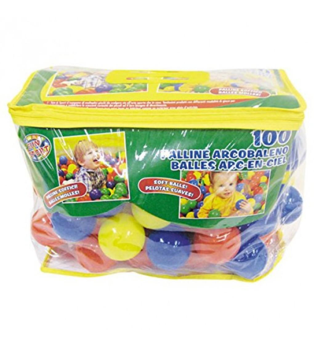 Sun & sport - bolsa com 100 bolas diam 6cm - Sun&Sport