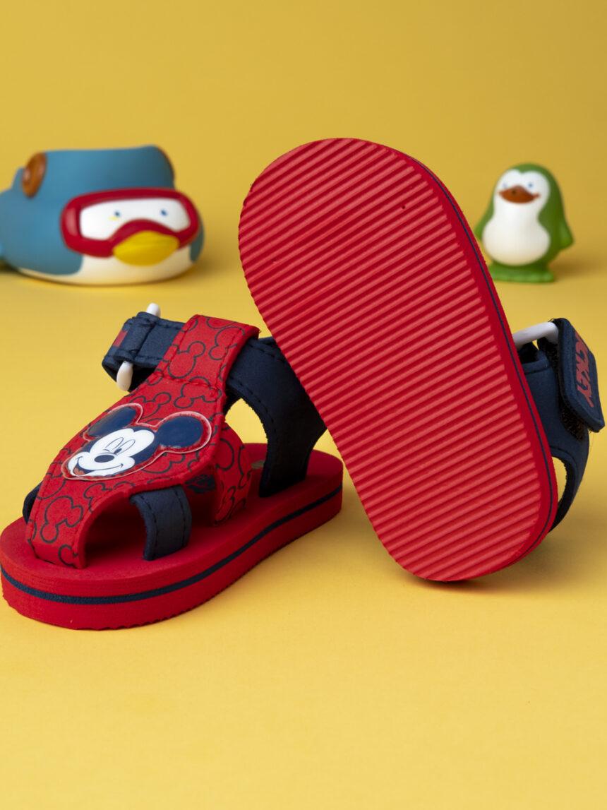 "Sandália de menino ""mickey mouse"" - Marvel"
