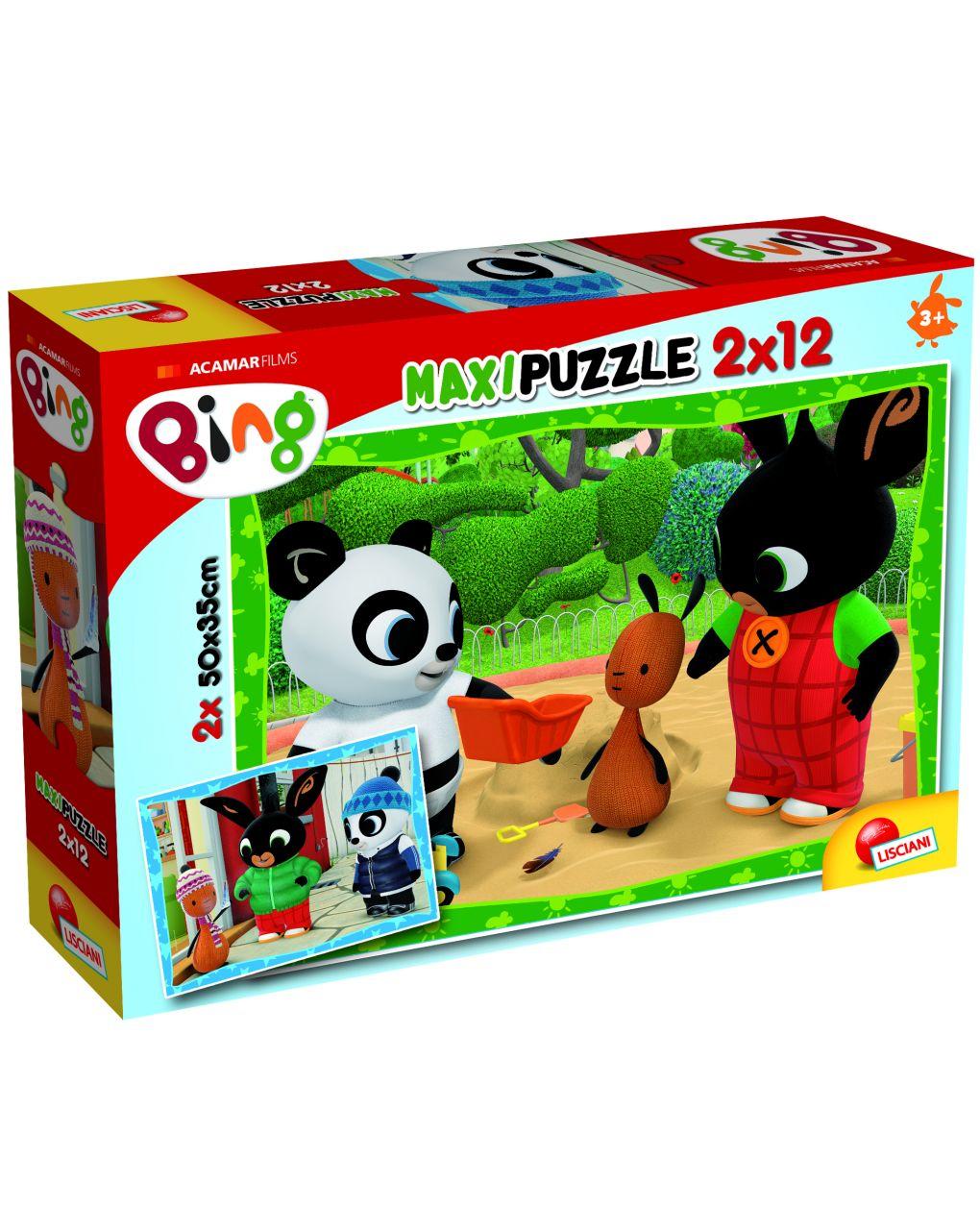 Bing puzzle supermaxi 12x 2 - bing e seus amigos! - Bing