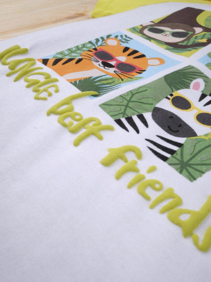 """Completo bimbo """"melhores amigas da selva"""" - Prénatal"""