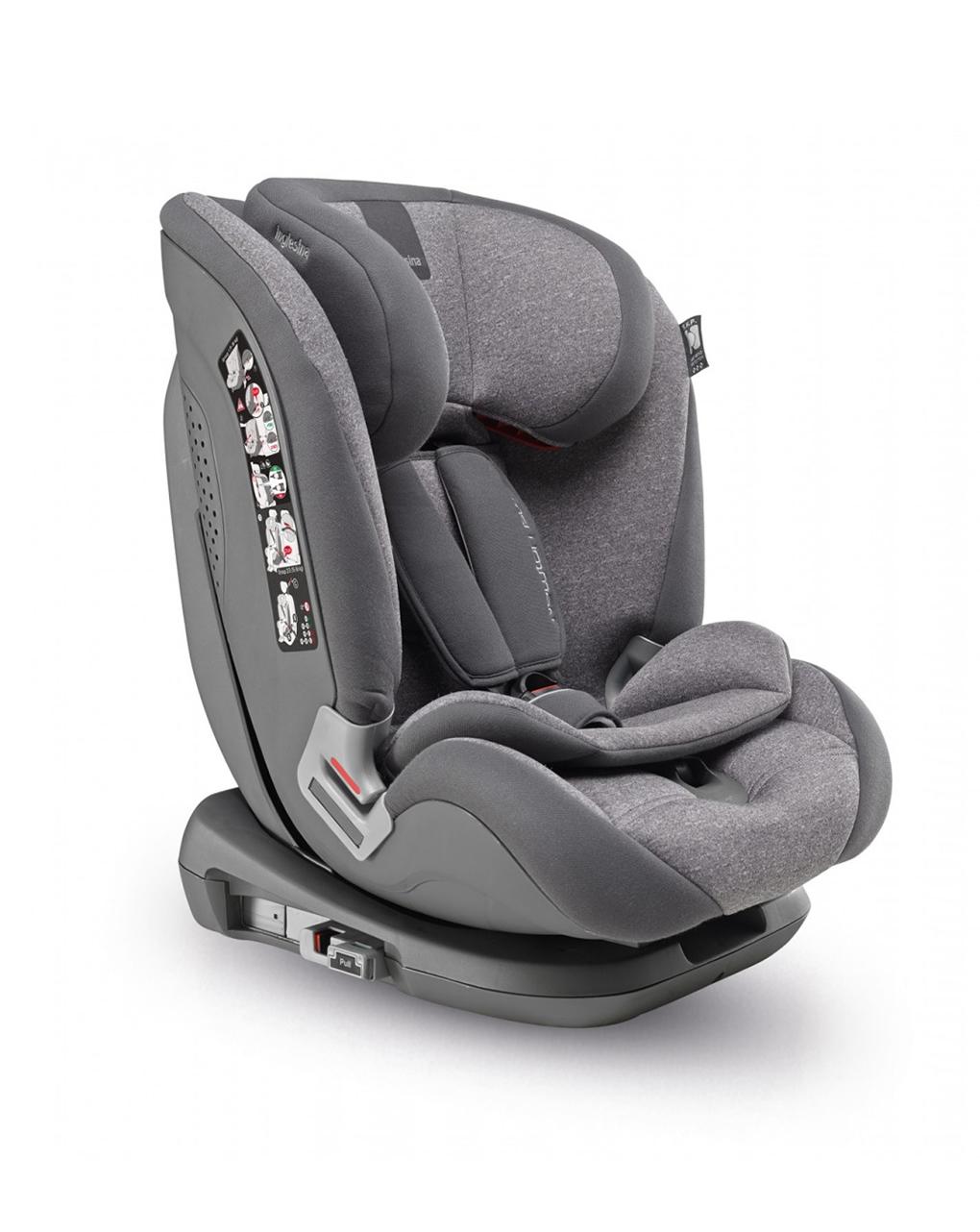 Cadeira auto inglesina newton 1.2.3 ifix, cinza - Inglesina