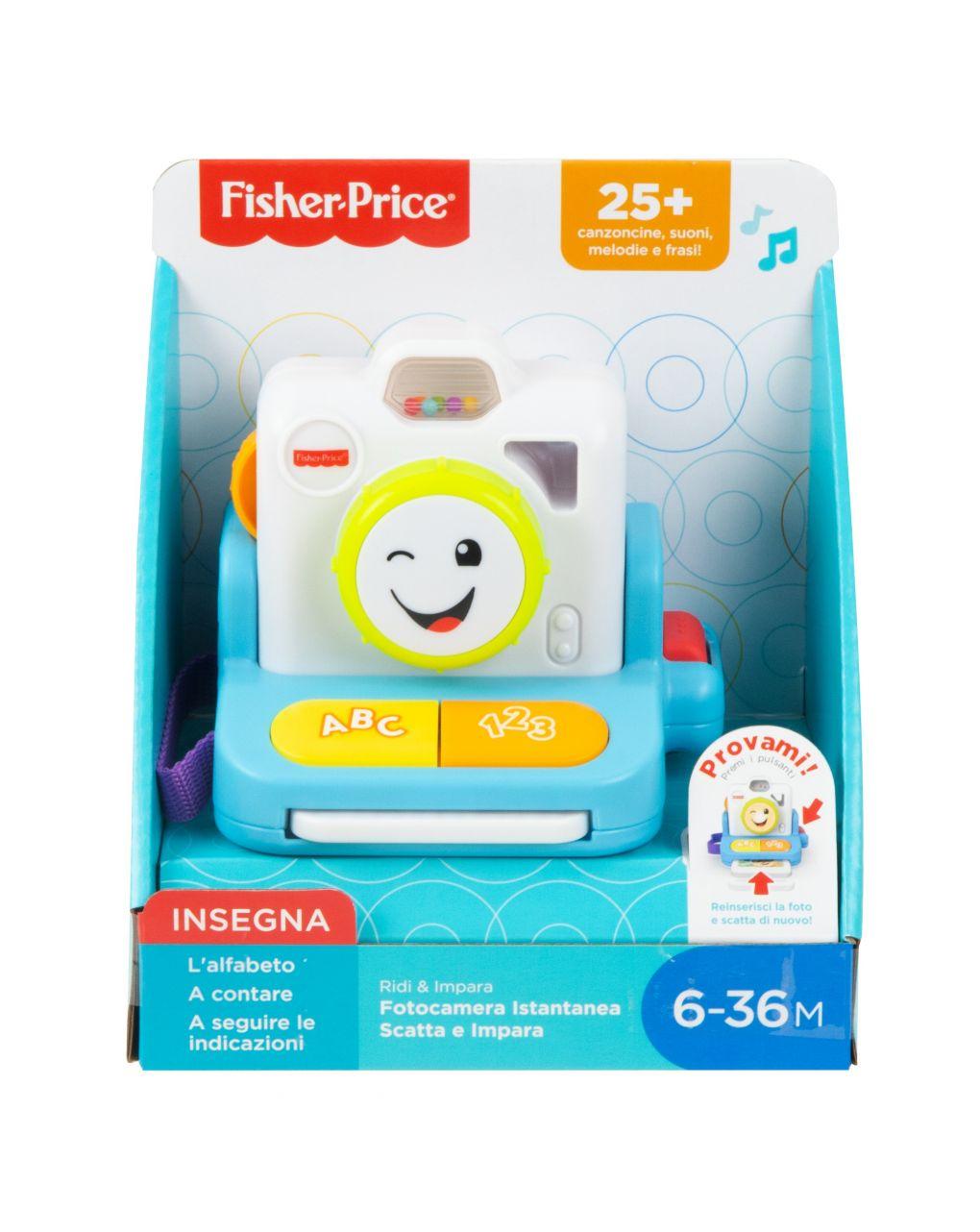Fisher price - polaroid rir e aprender - Fisher-Price
