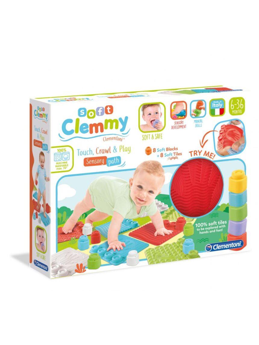 Clemmy - o tapete toca, rasteja, brinca - Clementoni