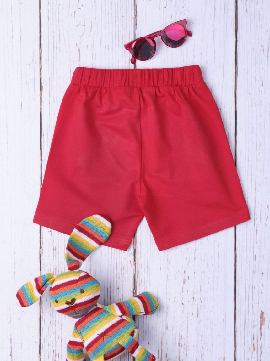 Shorts bimbo básico vermelho - Prénatal