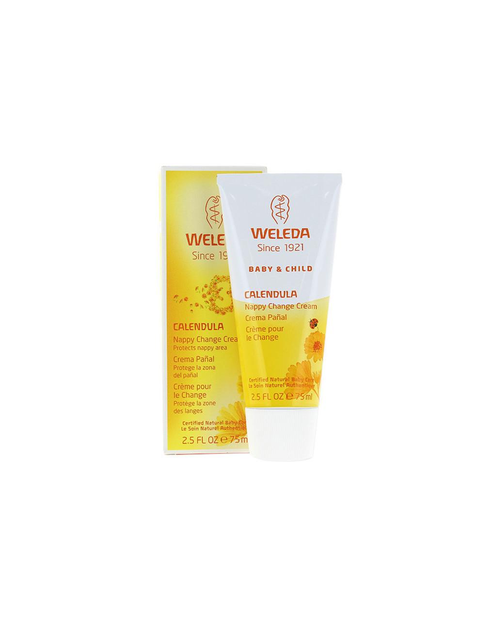 Creme protetor de calêndula para bebê 75 ml - Weleda